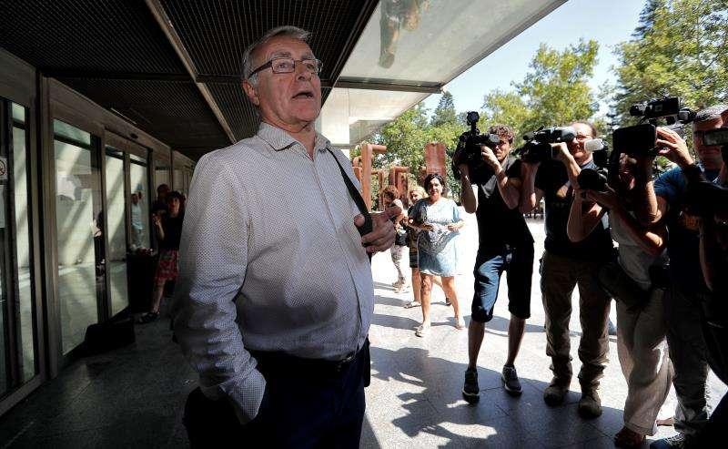 El alcalde de València, Joan Ribó, en la Ciudad de la Justicia. EFE/Archivo