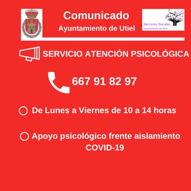 Cartel Atención Psicológica