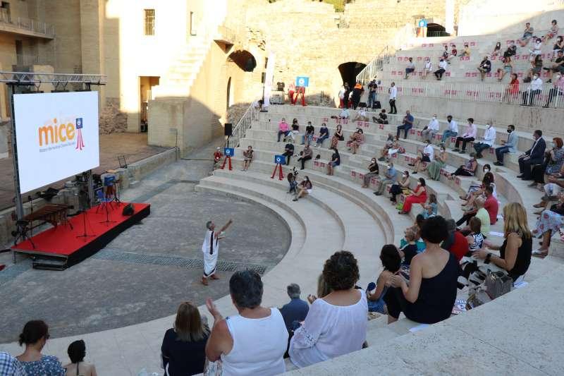 Vista general del teatro.