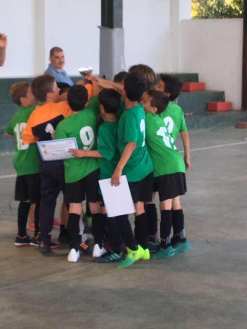 Equipo de fútbol sala. / EPDA