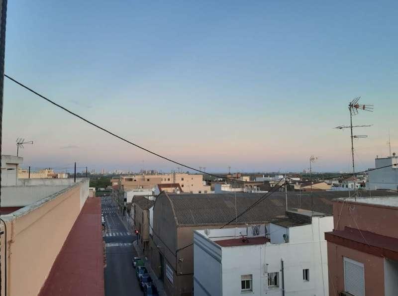 Imagen captada por el alcalde de La Pobla de Farnals. EPDA