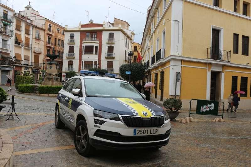 La policía local lamenta la situación