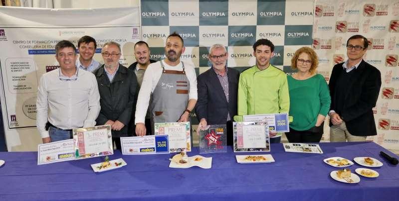Participants en la setena edició de la Ruta de la Tapa. EPDA