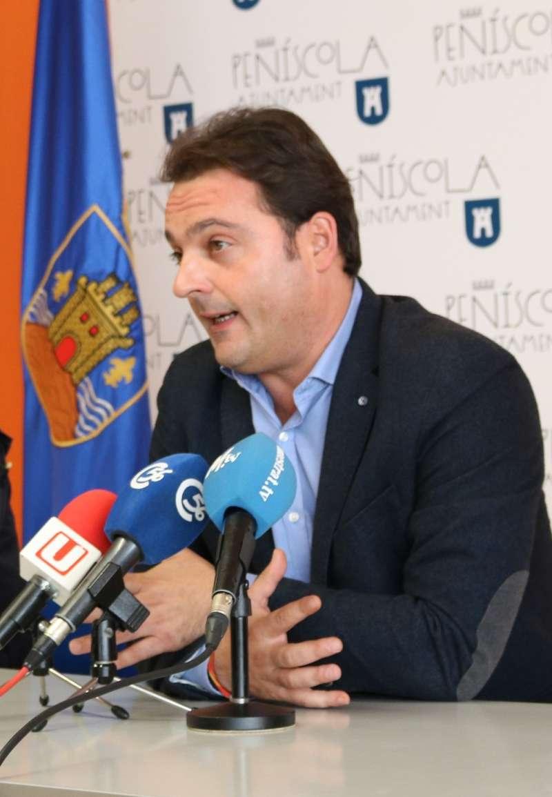 Andrés Martínez, alcalde de Peñíscola.