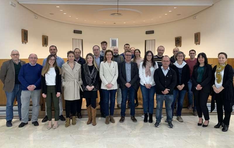 Reunión del proyecto Guardian en Paterna. EPDA