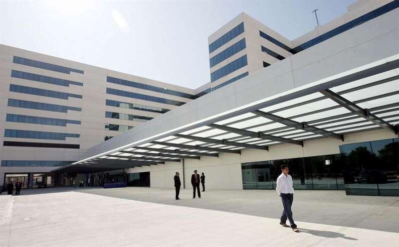 Vista general del nuevo Hospital La Fe de Valencia. EFE/Kai Försterling