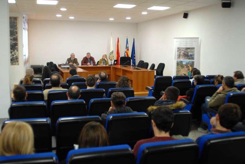Presentació de la jornada celebrada a Serra