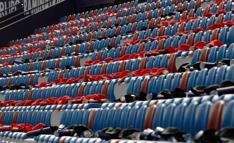 El Ciutat de València vacío antes de un partido.