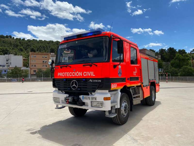 El camió Autobomba Rural Pesada. EPDA.
