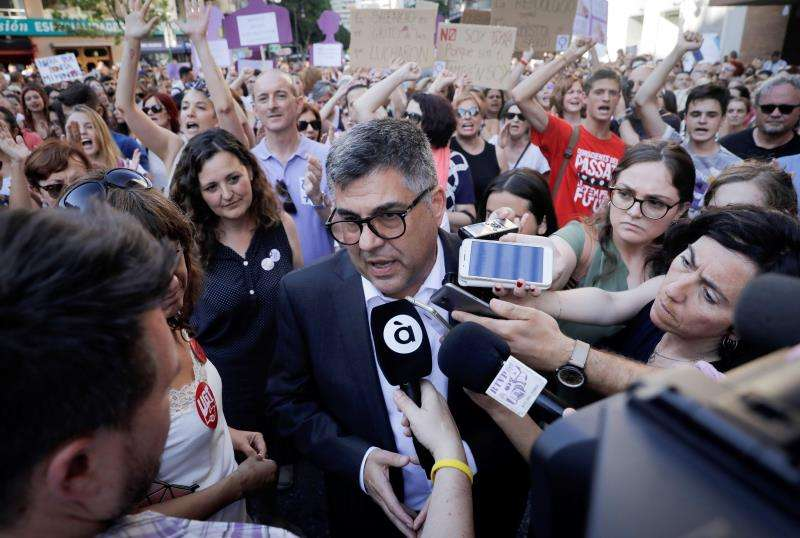 El delegado del Gobierno de la Comunitat Valenciana, Juan Carlos Fulgencio. EFE/Archivo