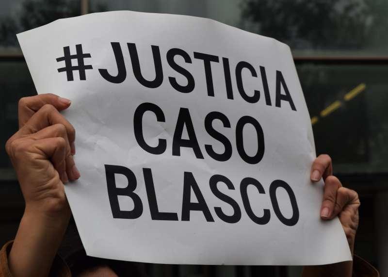 Protestas durante el juicio del