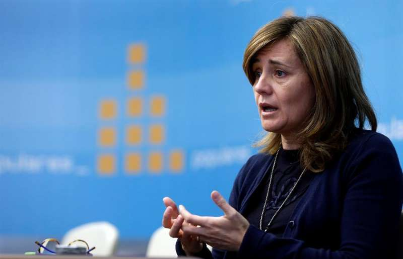 La portavoz adjunta del PP en Les Corts Valencianes Elena Bastidas. EFE