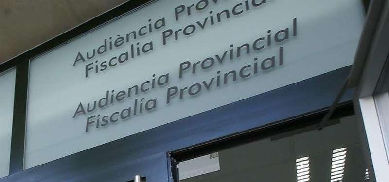Imagen de la entrada a la Audiencia Provincial de Alicante.EFE