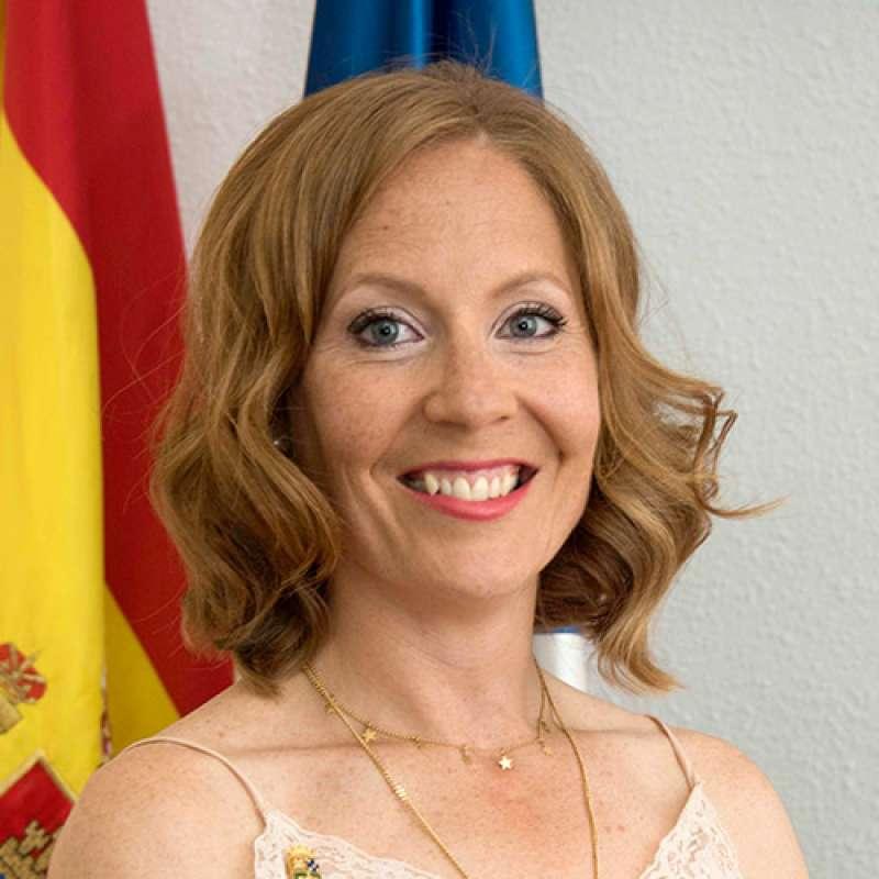 Portavoz del Grupo Municipal del PP en la localidad, María Castellano. / EPDA