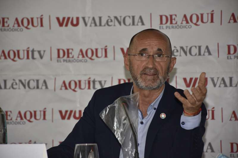 Bartolomé Nofuentes, Asesor especial de fondos Europeos para la Generalitat Valenciana. / Plácido González