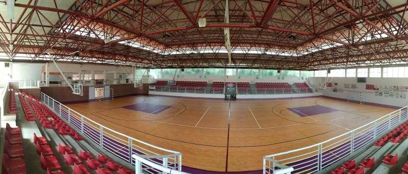 Pabellón Cubierto Municipal de Utiel./EPDA