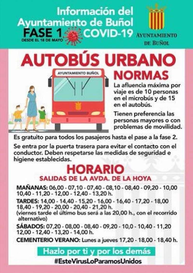 Cartel Normas Autobús