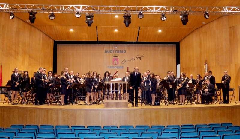 Banda de Soneja en el auditorio de Segorbe