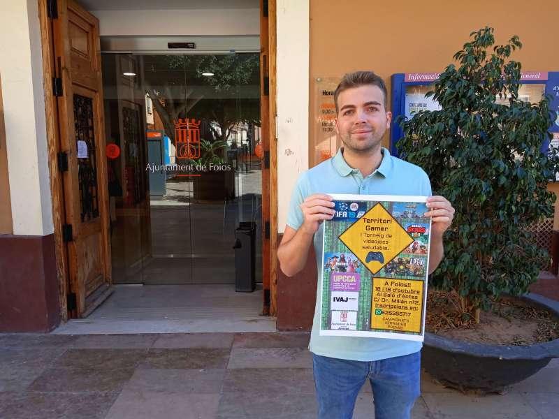 El regidor de Joventut de Foios, Paco Serrano. EPDA