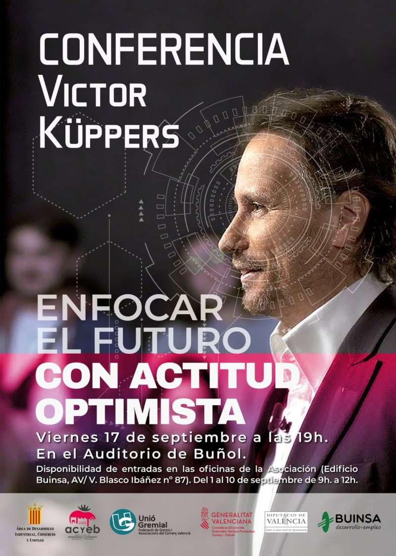 Cartel conferencia Víctor Küppers./EPDA