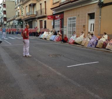 Imagen del X Campeonato de Pilota valenciana celebrado en La Pobla de Vallbona. Foto: EPDA