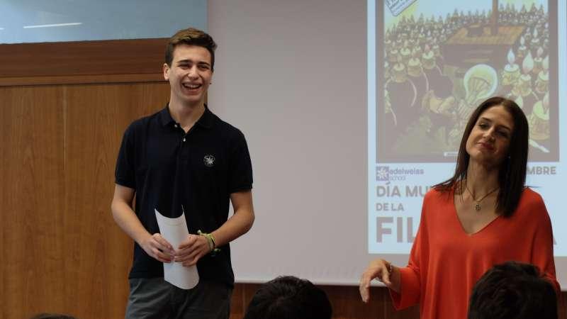 Inauguración Jornada Día Mundial de Filosofía en Eldeweiss.