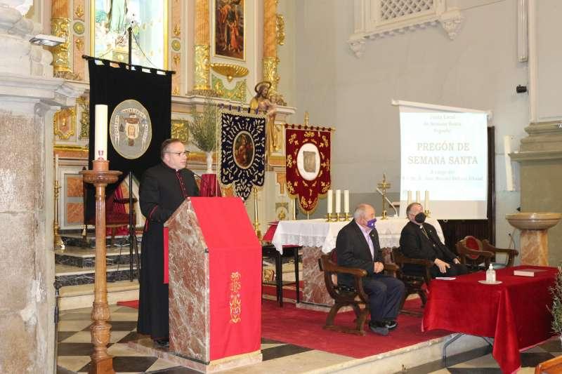 Pregón en la iglesia de Santa María
