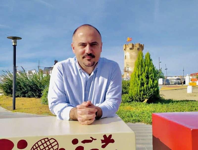 El concejal de Cs de Paterna Jorge Ochando. EPDA