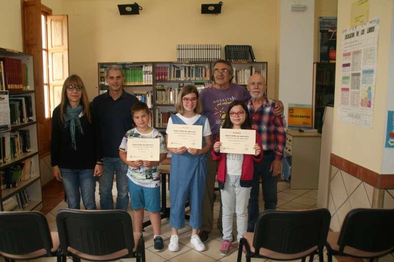 Els guanyadors del concurs de conte curt. EPDA