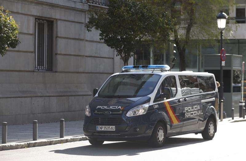 Un furgón policial. EFE/Archivo