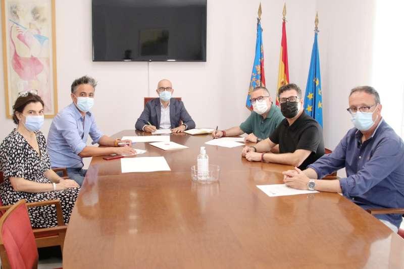 Alaquàs signa el conveni urbanístic per al desenvolupament del nou sector VII del polígon dels Mollons. EPDA