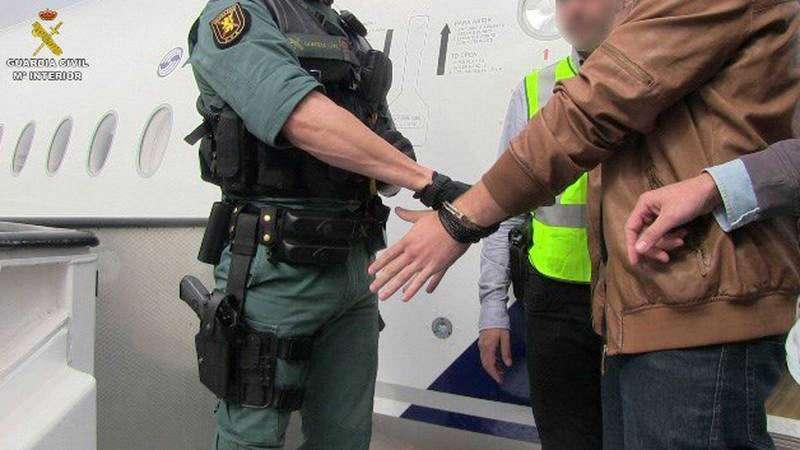Detención por la Guardia Civil. Foto: Archivo