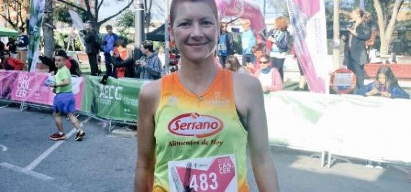 La corredora de Serrano CA Natacha López será homenajeada en la celebración de la carrera en Massalfassar. EPDA