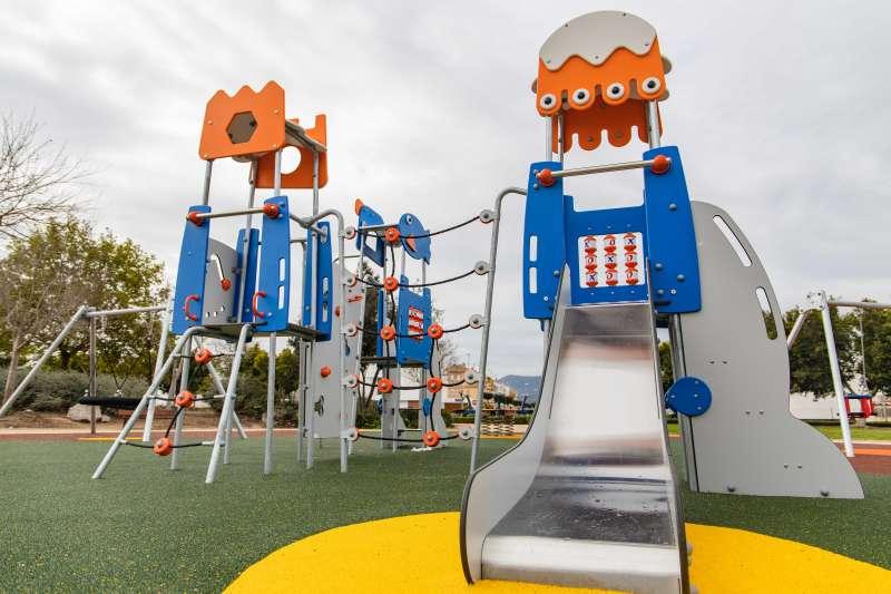 Parc remodelat a Cullera./EPDA