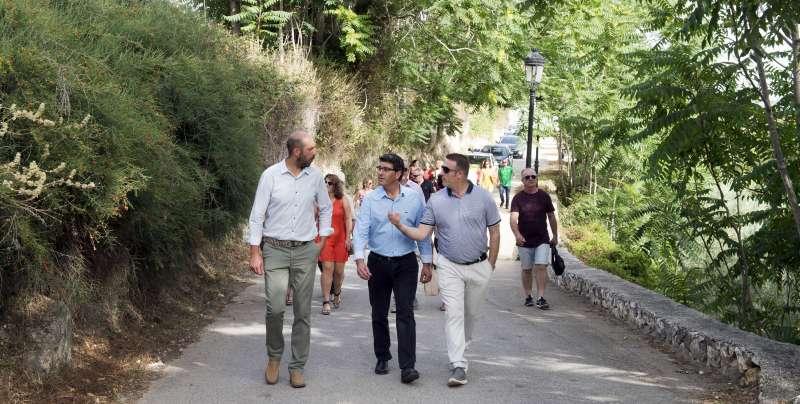 Plan de Caminos en Enguera. Foto Abulaila.