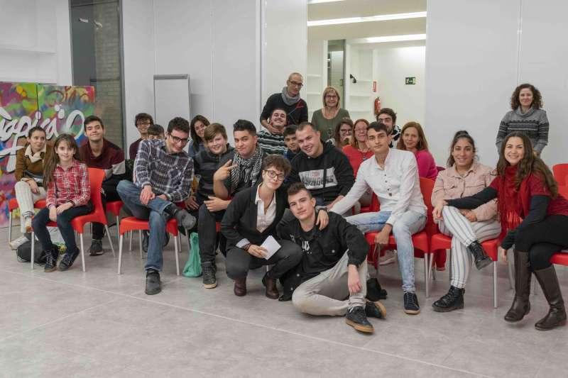 Els joves participants en l