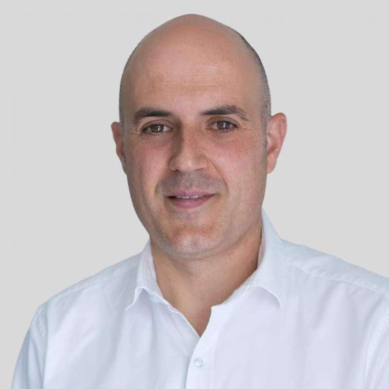 El portavoz de Ciudadanos (Cs) Torrent, Raúl Claramonte