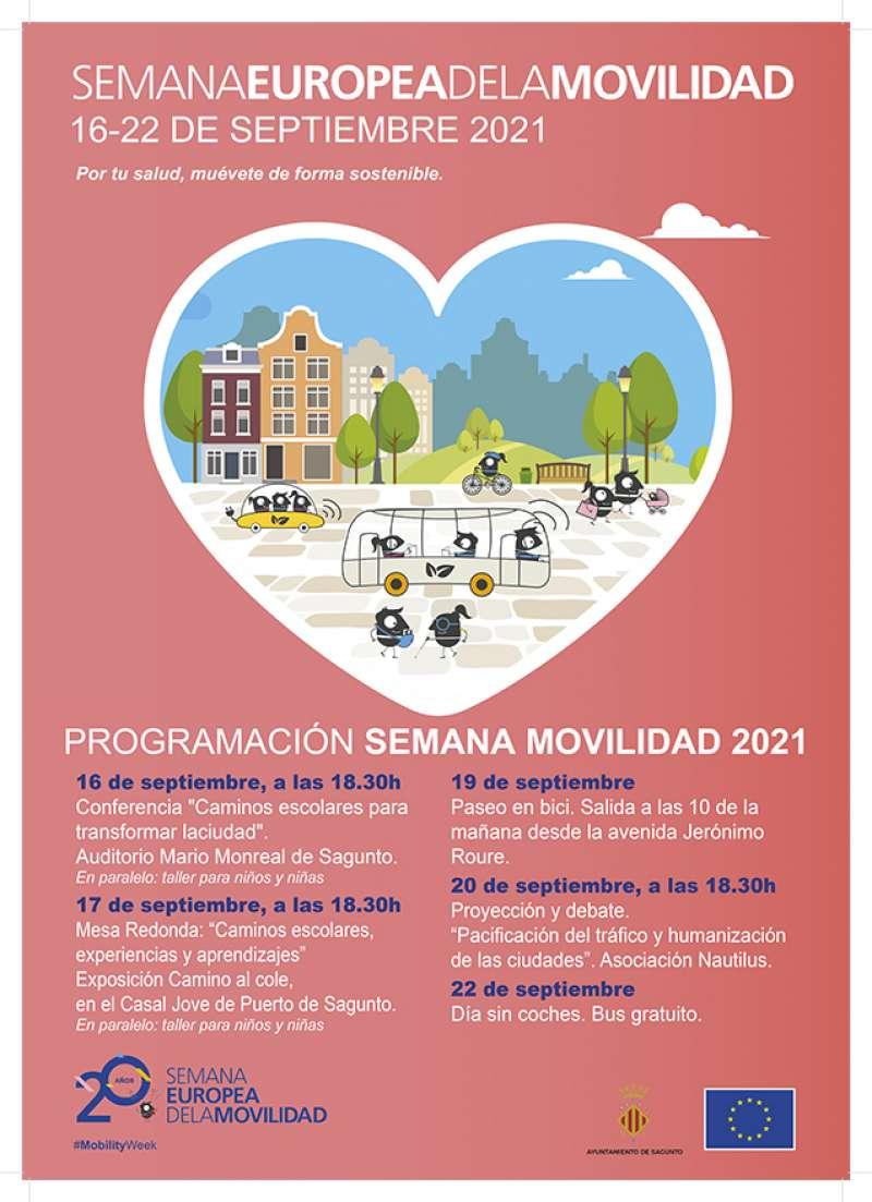 Cartel de la Semana Europea de la Movilidad. / EPDA