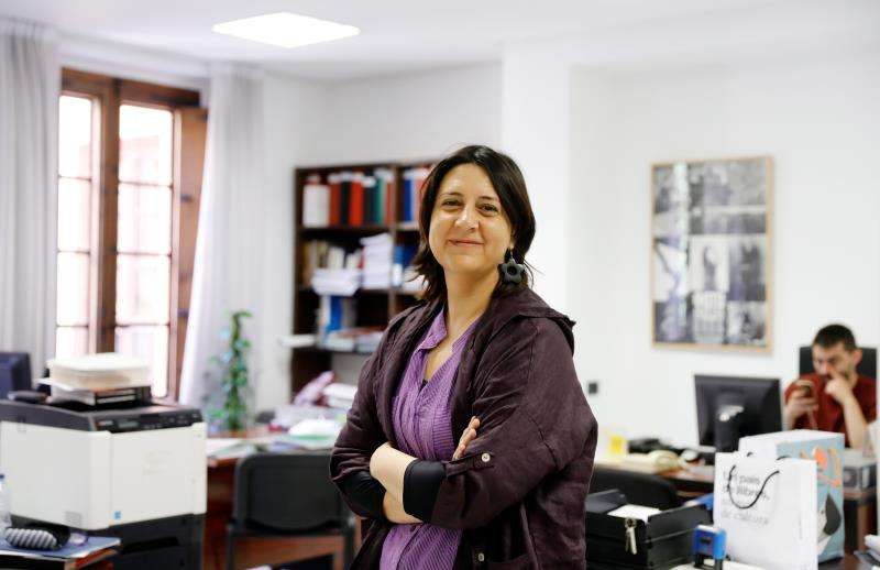 La coordinadora general de Esquerra Unida, Rosa Pérez Garijo. EFE/Archivo