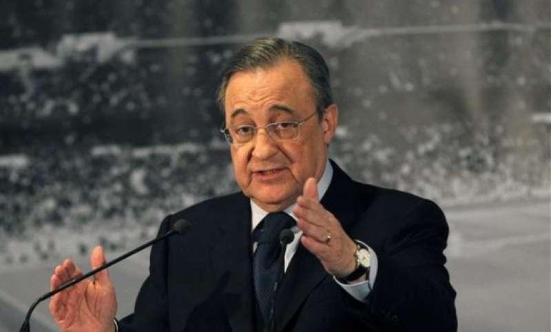 Florentino Pérez. Imagen: EFE.