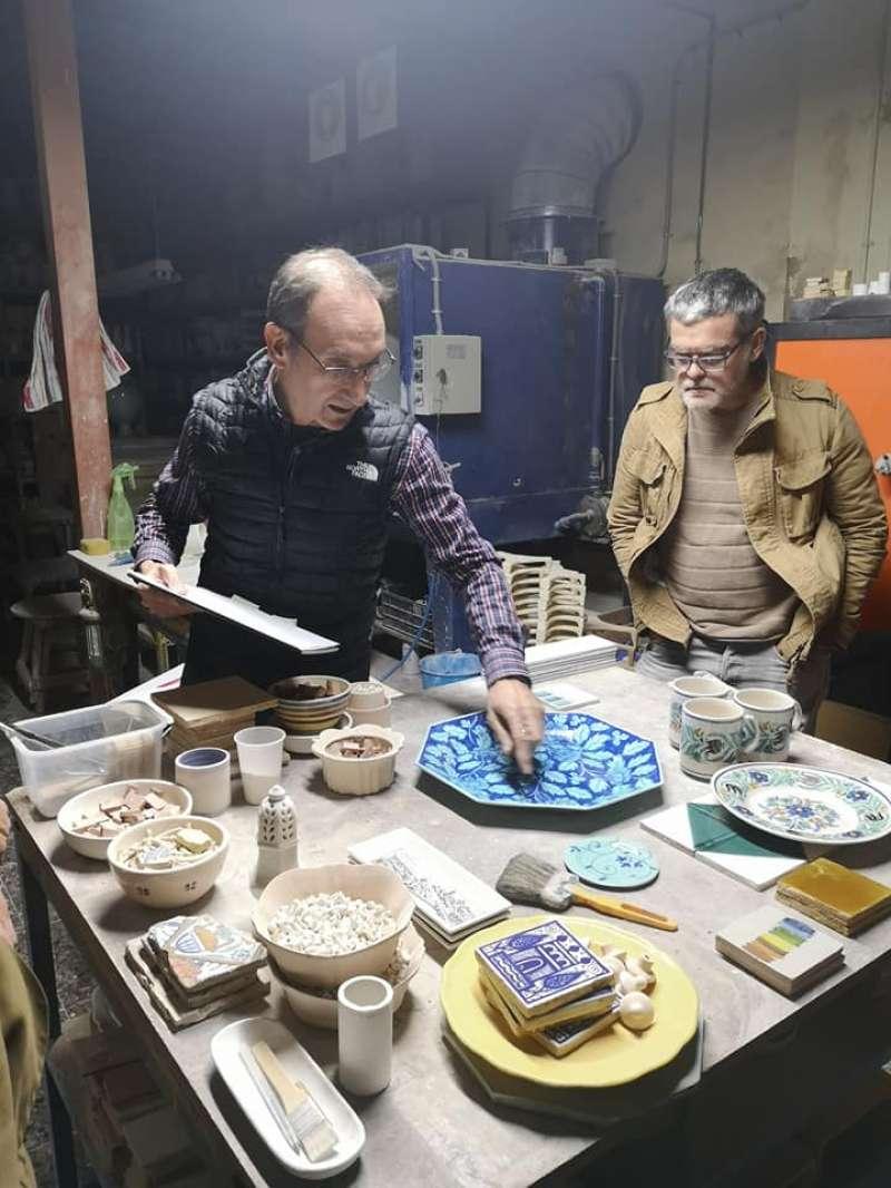 Taller de ceràmica organitzat a Manises. -EPDA