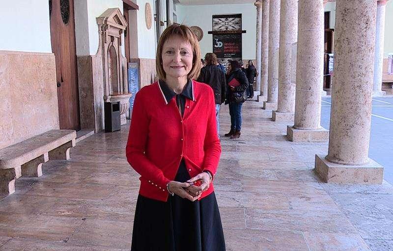 La rectora de la Universidad de Valencia (UV), Mavi Mestre. EFE/Archivo