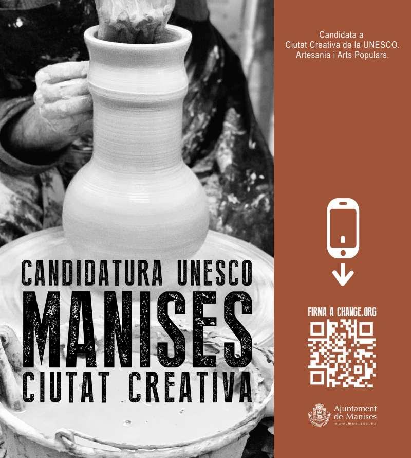 Manises ha sigut seleccionada per la Comissió Nacional Espanyola de Cooperació amb la UNESCO. EPDA