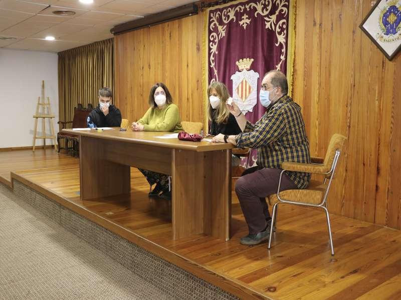 Moment del sorteig al Consell Agrari. / EPDA