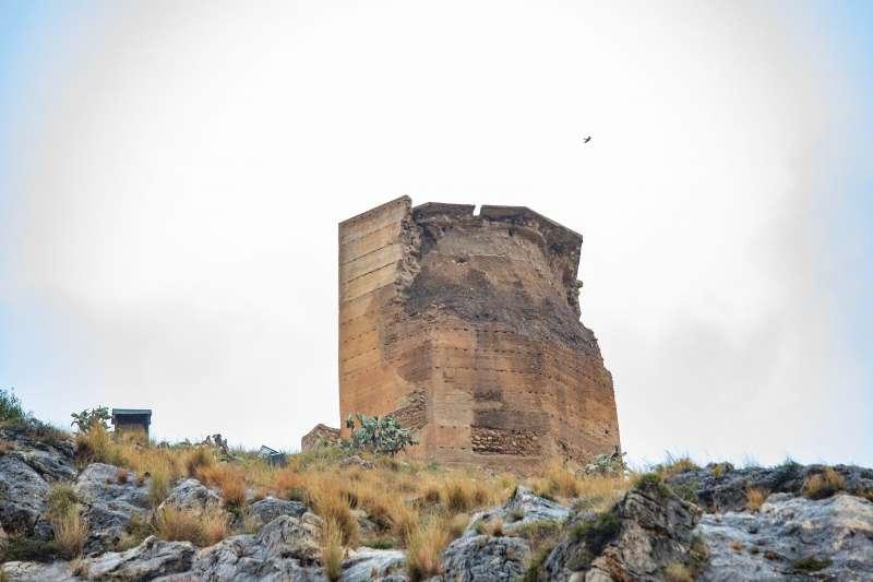Torre Octogonal del Castell de Cullera./EPDA