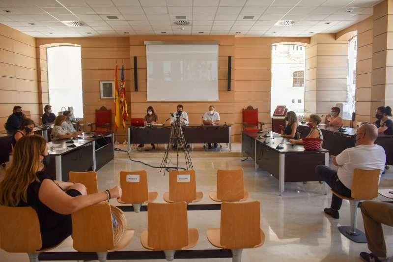 Pleno municipal./EPDA