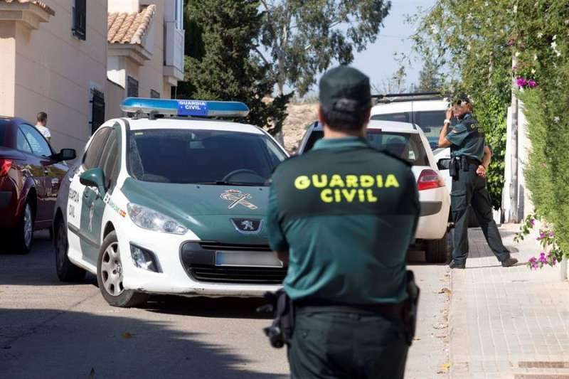 Guardia Civil en una imagen de archivo / EPDA