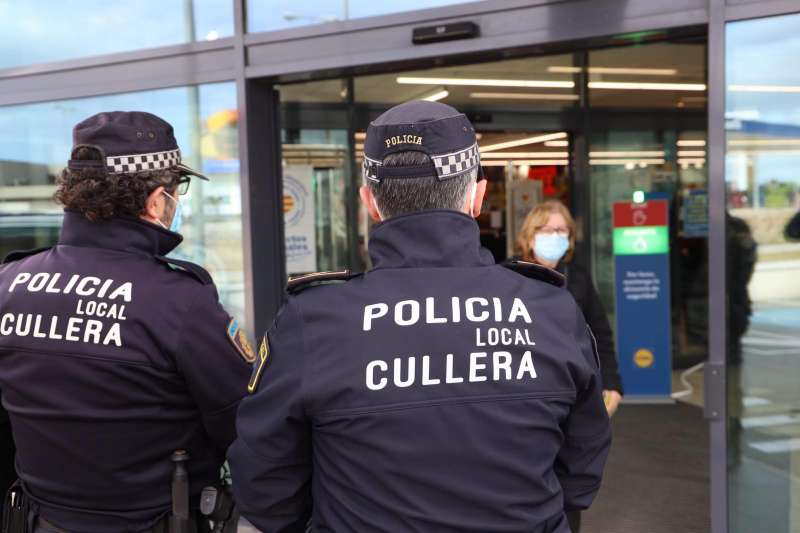 Policia Local Cullera./EPDA