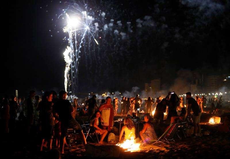 Celebraciones de la noche de San Juan. EFE/Archivo