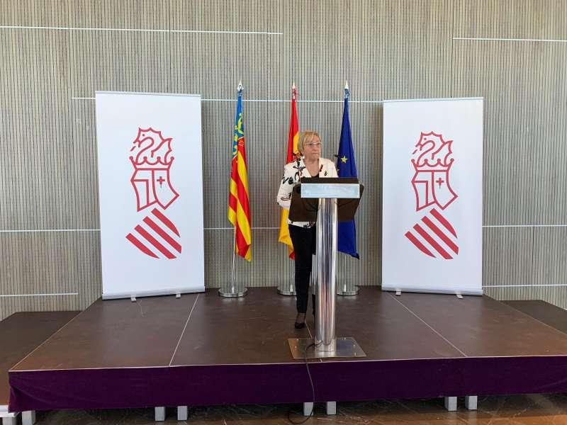 La consellera Ana Barceló.